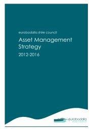 Asset Management Strategy - Eurobodalla Shire Council