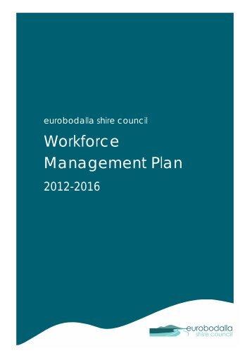 Workforce Management Plan - Eurobodalla Shire Council