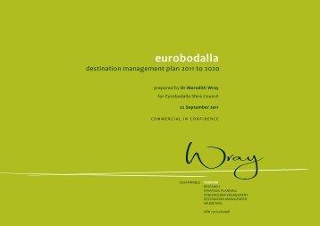eurobodalla Destination Management Plan 2011-2020