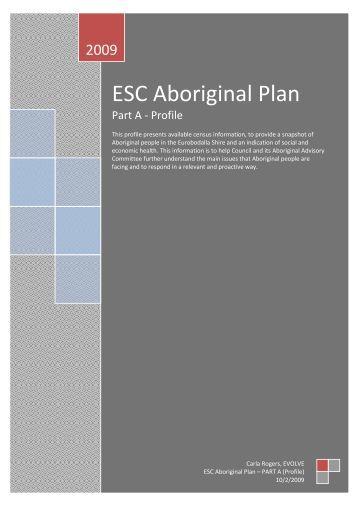 ESC Aboriginal Plan - Eurobodalla Shire Council