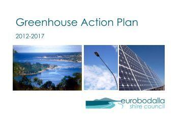 Greenhouse Action Plan 2012-2017 - Eurobodalla Shire Council ...