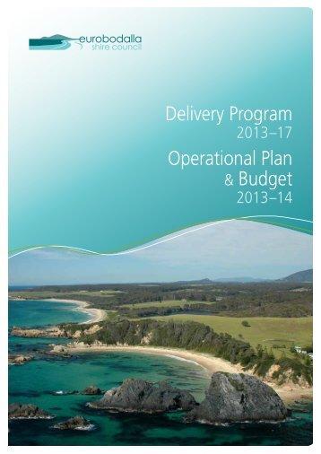 Delivery Program Operational Plan - Eurobodalla Shire Council ...