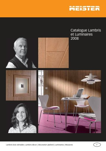 Catalogue Lambris et Luminaires 2008 - L'Escale Bio