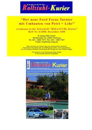 Rollstuhl-Kurier Rollstuhl-Kurier - Escales-Verlag