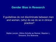 Gender Bias in Research