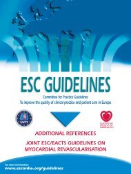 Related Materials - European Society of Cardiology