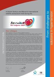 Daiichi Sankyo / Menarini - European Society of Cardiology