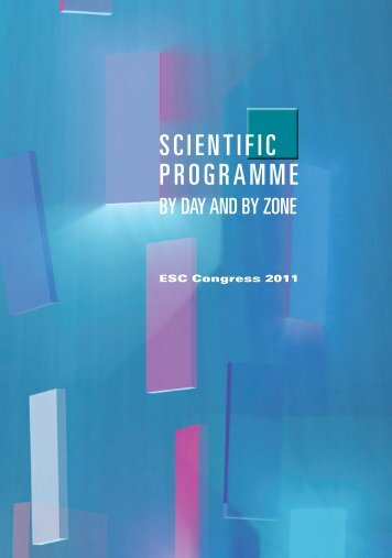 ESC Congress 2011 - Final Programme - European Society of ...