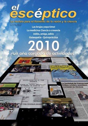 Nº 34 Enero – Abril 2011 P.V.P. 9 € (IVA incluido) - Sociedad para el ...