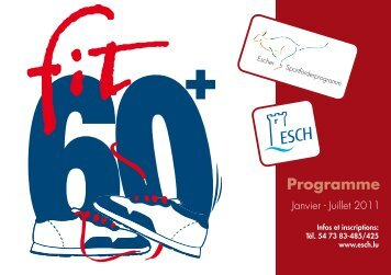 Programme - Esch sur Alzette