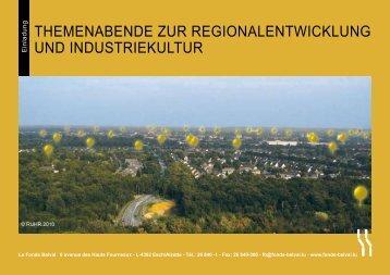 themenabende zur regionalentwicklung und ... - Esch sur Alzette