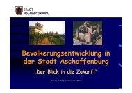 Ausführliche Daten zur Bevölkerung im PDF ... - Stadt Aschaffenburg