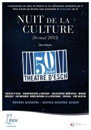 Programme (PDF) - Esch sur Alzette