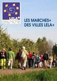 Catalogue Marches LELA+ - Esch sur Alzette
