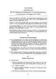 Verwaltungskostensatzung mit Kostenverzeichnis - Stadt Eschborn
