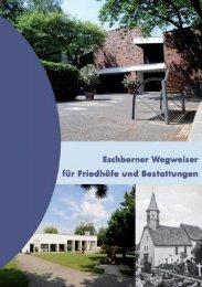 Wegweiser für Friedhöfe und Bestattungen - Stadt Eschborn