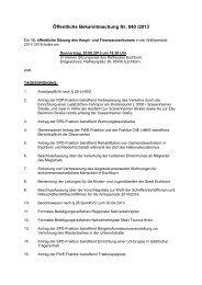 Öffentliche Bekanntmachung Nr. 040 /2013 - Stadt Eschborn