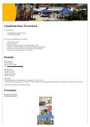 Schulkinderhaus Westerbach Kontakt Formulare