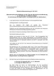 030 / 2013 - Stadt Eschborn