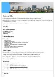 Eschborn blüht Kontakt Aktuelles - Stadt Eschborn