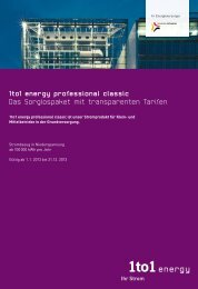 Klein und Mittelbetriebe, 1to1 energy professional classic ...