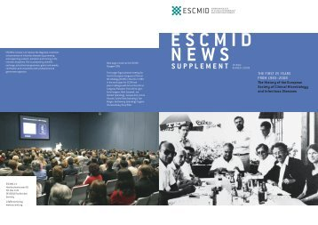 S U P P L E M E N T - European Society of Clinical Microbiology and ...