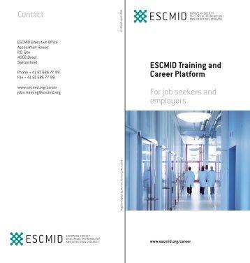 ESCMID Training and Career Platform - European Society of ...
