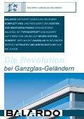 BALARDO - GANZGLAS-GELÄNDER - esco Metallbausysteme GmbH - Seite 2