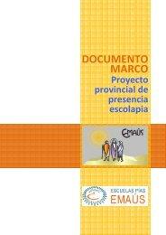 Proyecto marco Presencia Escolapia - Escolapios. Escuelas Pías ...
