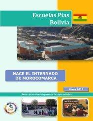 Escuelas Pías Bolivia - Escolapios. Escuelas Pías Emaús