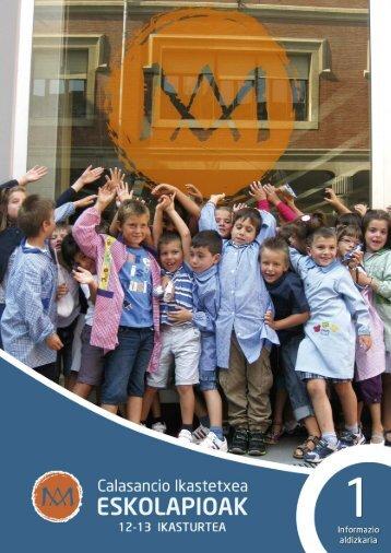 Catálogo askartza - Escolapios. Escuelas Pías Emaús