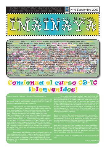 Comienza el curso 09-10 - Escolapios. Escuelas Pías Emaús