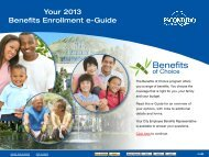 New Hire Benefits Enrollment e-Guide - City of Escondido