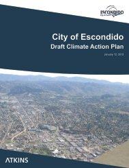 City of Escondido Draft Climate Action Plan