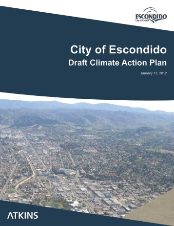 City of Escondido Draft Climate Action Plan