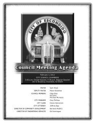 Download Council Agenda - City of Escondido