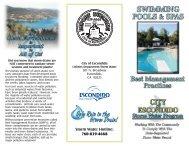 Swimming Pools & Spas - City of Escondido