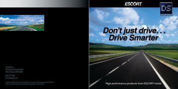 Download the ESCORT Product Catalog (PDF) - Escort Inc.