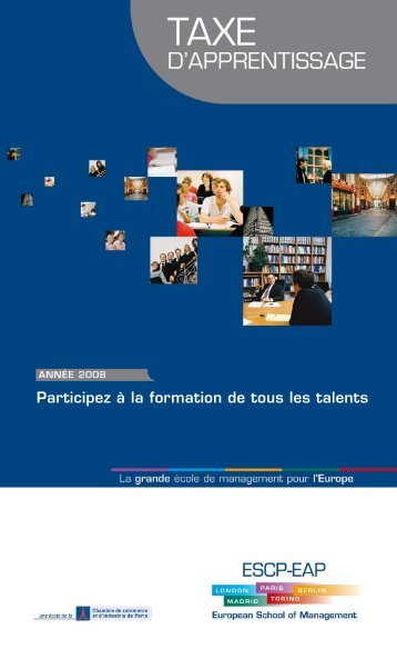 Participez à la formation de tous les talents - ESCP Europe Business ...