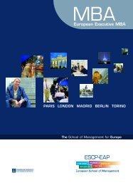 European Executive MBA - ESCP Europe