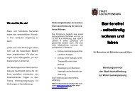 Faltblatt Barrierefreies Wohnen Varii  2  - Stadt Aschaffenburg