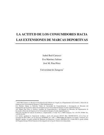 la actitud de los consumidores hacia las ... - ESCP Europe