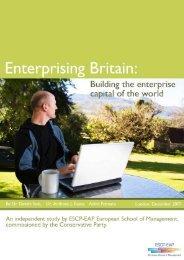 1. current state of entrepreneurship - ESCP Europe