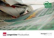 Lengericher Wochenblatt WN - Aschendorff Medien Gmbh & Co. KG