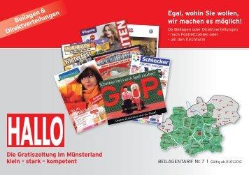 HALLO HALLO HALLO HALLO - Aschendorff Medien Gmbh & Co. KG
