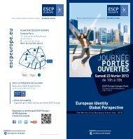 JOuRnéE PoRTeS ouveRTeS - ESCP Europe