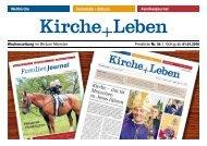 Gültig ab 01.01.2010 Wochenzeitung im Bistum Münster