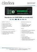 Reproductor de CD/MP3/WMA con entrada AUX - Page 2