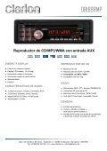 Reproductor de CD/MP3/WMA con entrada AUX - Page 3