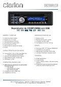 Reproductor de CD/MP3/WMA con entrada AUX - Page 4
